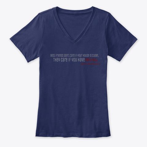 Best Friends Navy T-Shirt Front