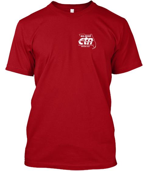 Big Bend Ctn Deep Red Camiseta Front