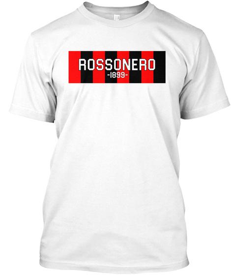 Rossonero Tee White T-Shirt Front