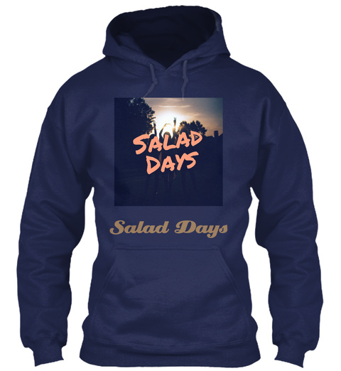 Salad Days Navy T-Shirt Front
