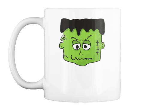 Halloween Mental Mug/ Tots  White T-Shirt Front