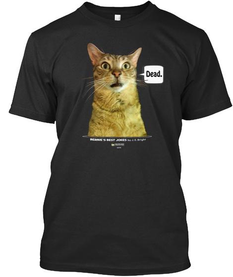 Dead Black T-Shirt Front