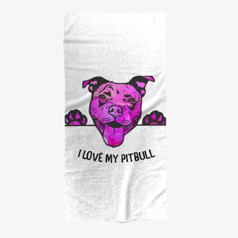 Love My Pitbull  Standard T-Shirt Front