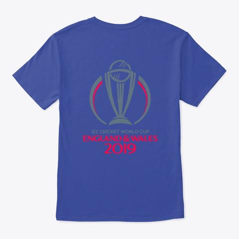 Cheer The Team India @Mr.Technology&Arts Deep Royal T-Shirt Back