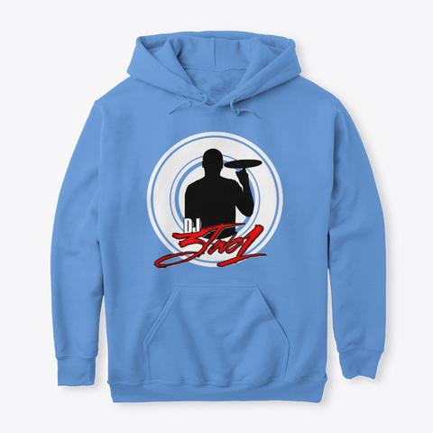 Dj3two1 Hoodie Carolina Blue T-Shirt Front