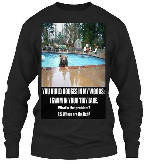 G Lane Graphics Black T-Shirt Front