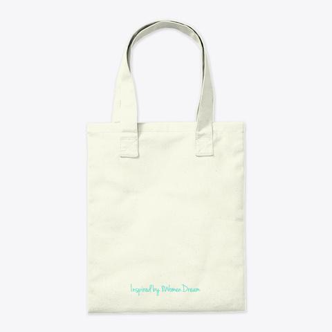 Dreaming About Tomorrow Tote Natural Tote Bag Back