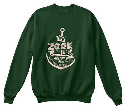 It's A Zook Thing   Xmas Deep Forest  T-Shirt Front