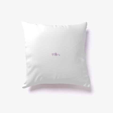 Pillow   Tea Time  White T-Shirt Back