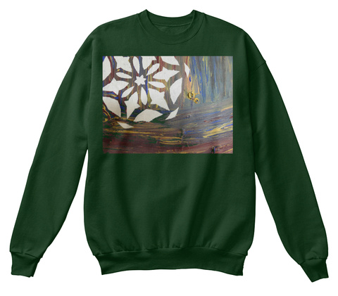 December T Shirt Ugly Christmas Sweatshi Deep Forest  T-Shirt Front