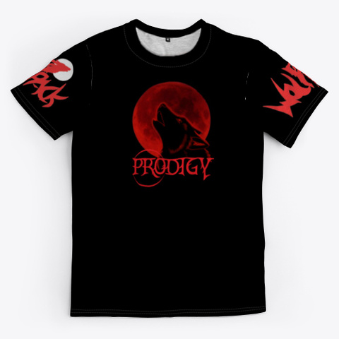 Ss T Prodigy Twitch Gear Rebranded Black T-Shirt Front