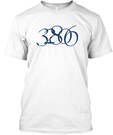 32806 White T-Shirt Front