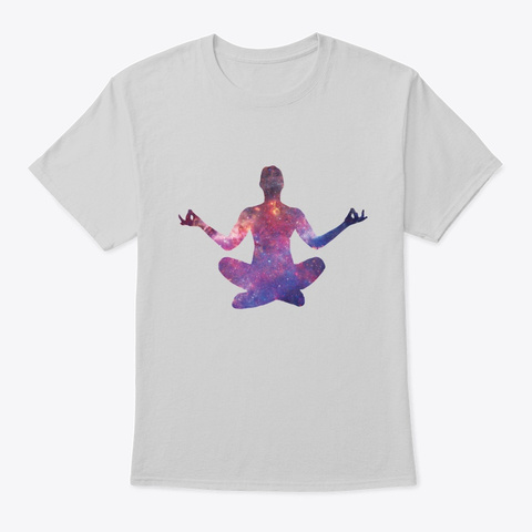 Meditation Is Lifei Light Steel T-Shirt Front