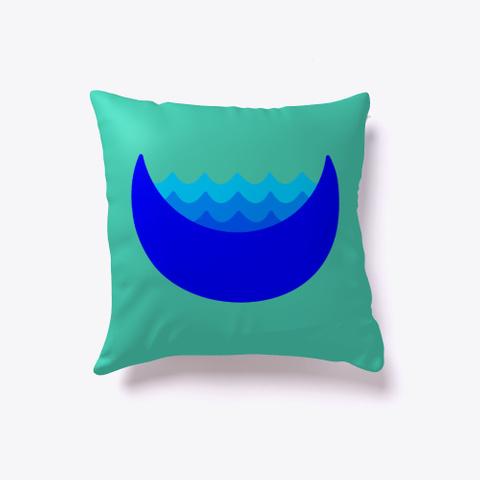 Lay Your Head On My Pillow Aqua T-Shirt Back