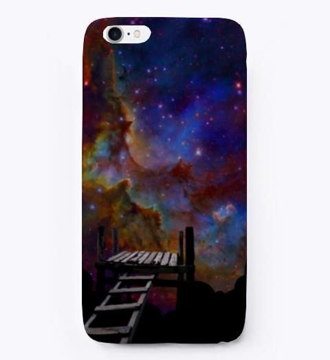 Space Dream Phone Case Black T-Shirt Front