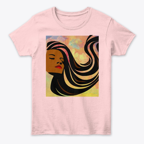 She Is Hope Light Pink T-Shirt Front