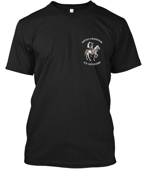 U.S. Veterans   Limited Edition! Black T-Shirt Front