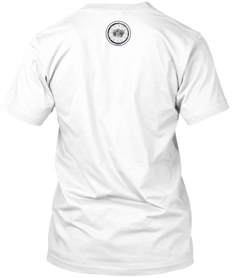 Lapis Lazuli Bgc Tiger White T-Shirt Back