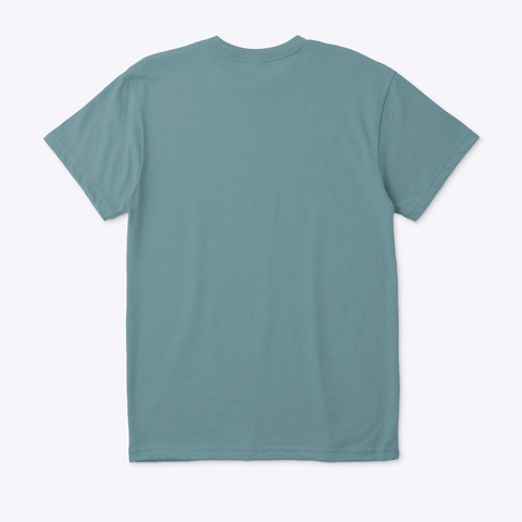Grok Heather Pacific T-Shirt Back