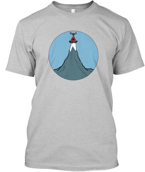 Fargo Roberts Gift Shop Shirt Light Heather Grey  T-Shirt Front