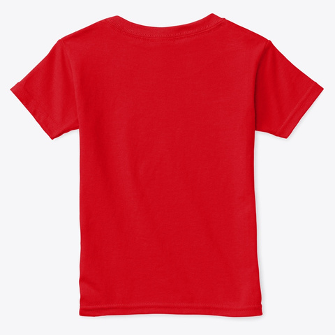Christmas Hope Faith Peace Red  T-Shirt Back