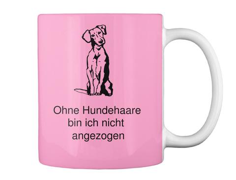 Ohne Hundehaare  Bin Ich Nicht  Angezogen Pink Camo T-Shirt Back