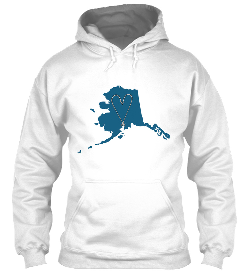 Alaska Fishing Love LongSleeve Tee