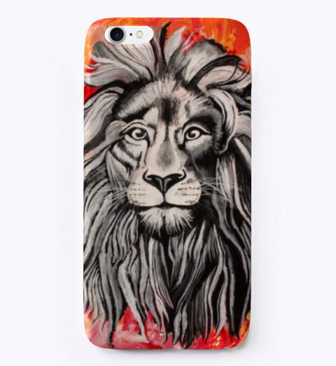 Artick Art Lion Paint Pour Standard T-Shirt Front