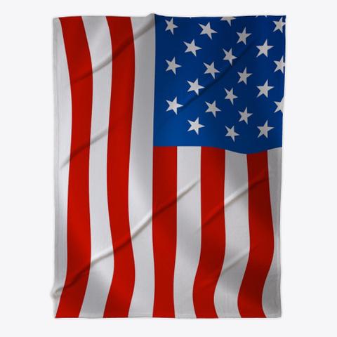 U S A Flag Fleece Throw Blanket Products From Fleece Blanket