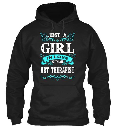 Art Therapist Black T-Shirt Front