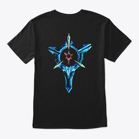 Lol Precision 4 Black T-Shirt Back