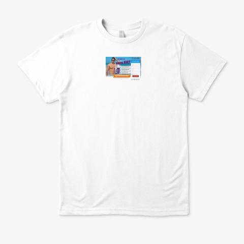 Keto Premiere White T-Shirt Front