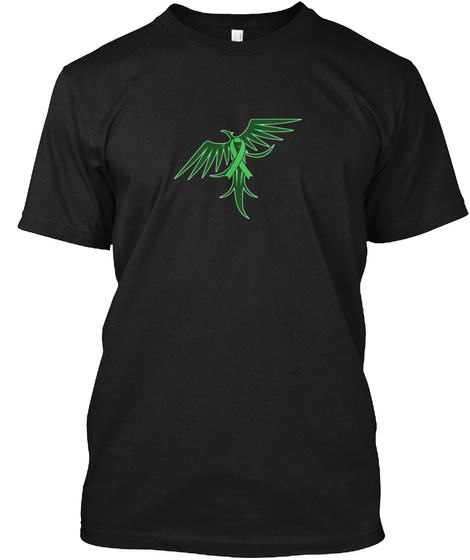 Are You A Phoenix? (Limited Edition) Black T-Shirt Front