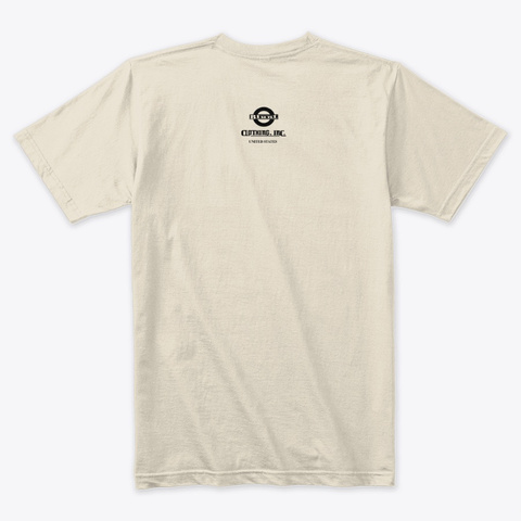Be Blunt   No Hatred Cream T-Shirt Back