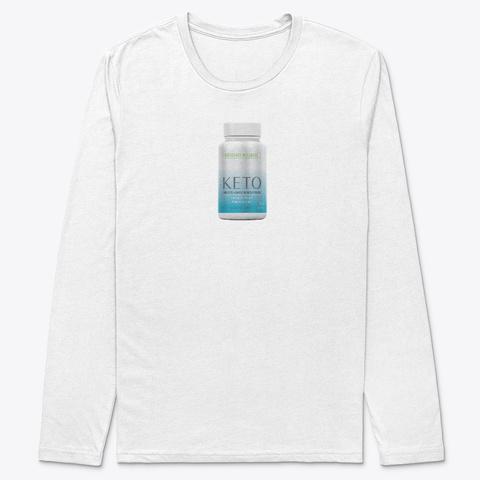 Biosource Wellness Keto White T-Shirt Front