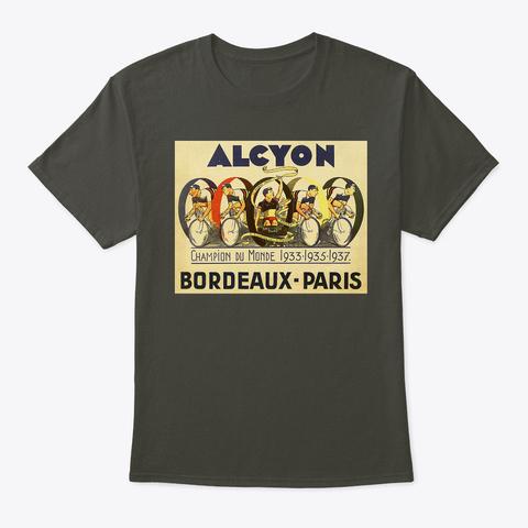 Alcyon   Bordeaux Paris 1937 Smoke Gray T-Shirt Front