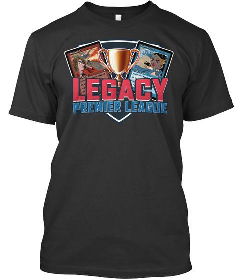 Legacy Premier League Black T-Shirt Front