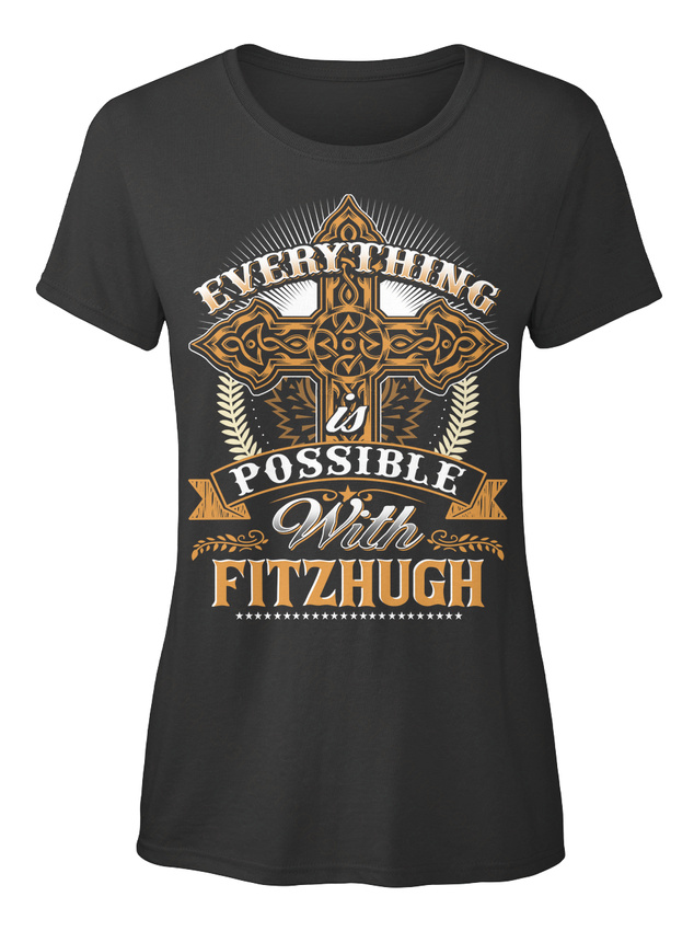 Machine-washable-Everything-Possible-With-Fitzhugh-T-shirt-Elegant-pour-Femme