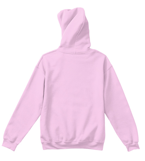 Rain Children's Hoodie Light Pink T-Shirt Back