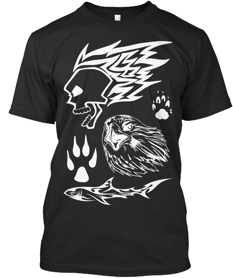 Louder Than Words Black T-Shirt Front