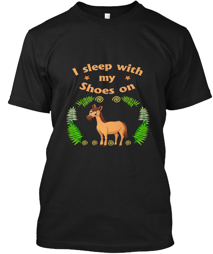 Kids Horse For Girls I Sleep With Hanes Tagless Tee T-Shirt