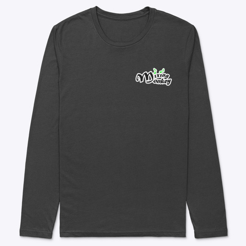 Green Collection Black T-Shirt Front