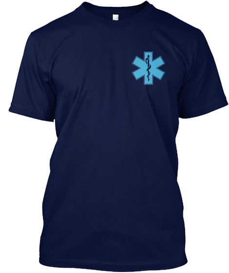 We Make A Life By What We Give! Navy T-Shirt Front