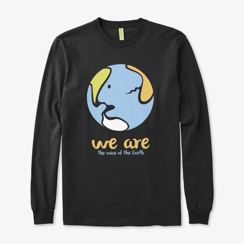 We Are / Eco Black T-Shirt Front