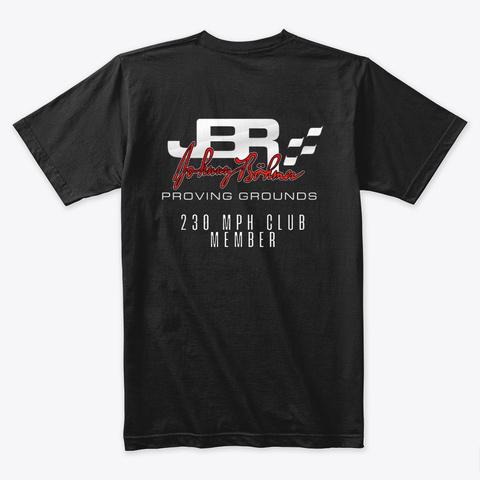 Jbpg 230 Mph Club Shirt Black T-Shirt Back