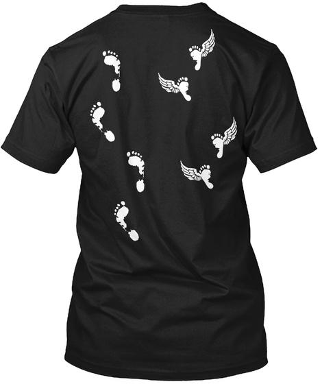 Never Walk Alone Black T-Shirt Back