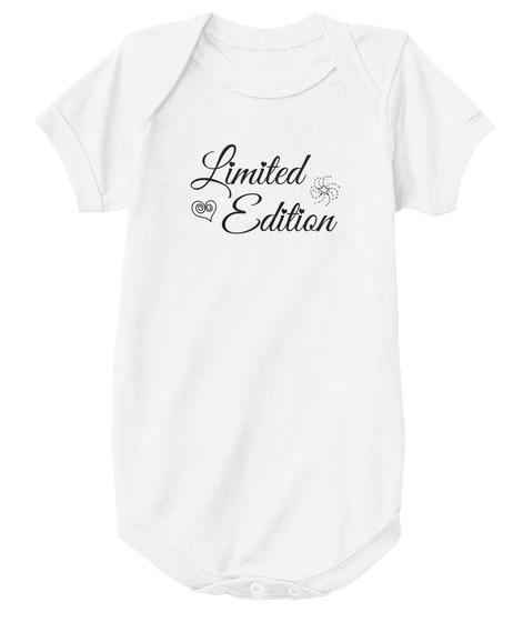 01c438f2c Limited Edition Baby Products from The Little White Onesie | Teespring