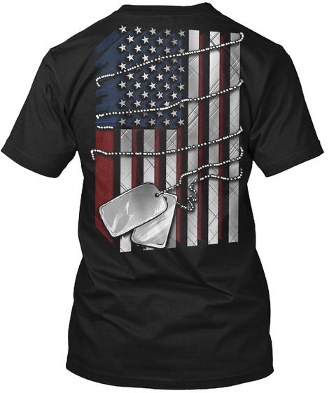 I/O Black T-Shirt Back