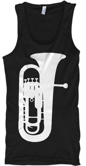 Euphonium Tank Top Black T-Shirt Front