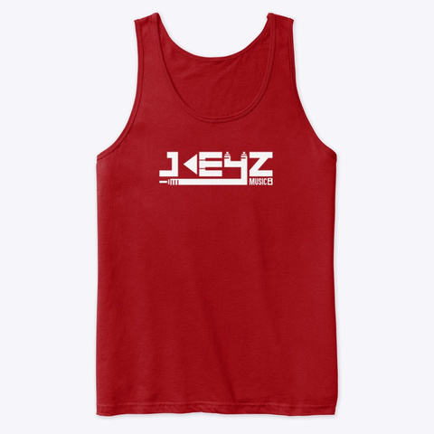 Tank Top Red T-Shirt Front